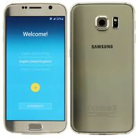 "Samsung Galaxy S6 Unlocked 4G 32GB 5.1"" 16MP Android Smartphone Gold"