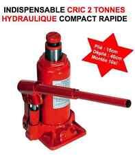 QUALITE PRO! CRIC HYDRAULIQUE 2 TONNES ! 4X4 RAID HDJ JEEP LAND RANGE PATROL