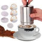 Coffee Decorating Dredger Cocoa Multi-Mold Cappuccino Art Barista Espresso Tool