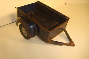 VINTAGE TONKA BLUE PICKUP FARM BOX TRAILER TRUCK AC310 NEW TAILGATE ,,, PARTS