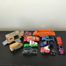 Collection Of 11 Hot Wheels Maisto & Matchbox Cars Trailers #563