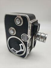 VINTAGE Paillard Bolex B8 8mm Movie Film Camera jj3