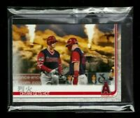 2019 Topps #367 - SHOHEI OHTANI GETS HOT - MIKE TROUT