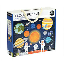 OUTER SPACE Petit Collage Best-selling 24-piece Large Floor Puzzle Toddler