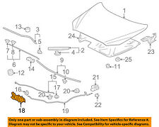 MITSUBISHI OEM 08-09 Lancer Hood-Lock Latch 5908A055