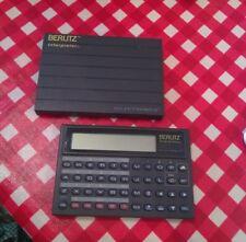 Vintage Berlitz Interpreter Selectronics TR500 model 1990 w/case