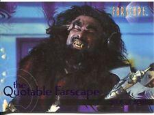 Farscape Season 4 The Quotable Farscape Chase Card Q51