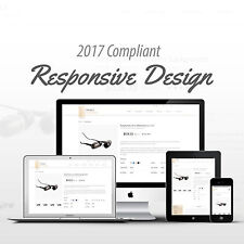 2017 Compliant Premium Responsive Ebay Auction Listing Template Mobile Design