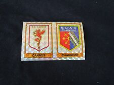 AS CANNES CHAUMONT ECUSSON Image sticker N° 334 FOOTBALL 86 PANINI 1986 BRILLANT