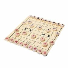 """Traditional Xiang Qi Wooden Chinese Chess Checker Game 2"""" Toy Play Comfort Thy"""