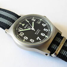 MWC G10 LM Military Watch James Bond Strap, 50m Water Resistance, NO DATE