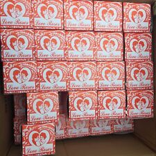 8 Boxes of 36  Love Roses Glass Tubes 288 total NEW