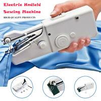 Portable Stitch Handheld Sewing Machine Quick Travel Handy Cordless Repairs xa80