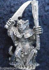 1993 Skaven 74454/78 Plague Monk 4 Chaos Ratmen Citadel Warhammer Army Ratman GW