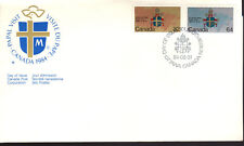 Canada - Papal Visit - 1030-1 U/A Fdc - Canada Post Cachet - 1984