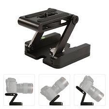 Z Flex Tripod Folding Pan Tilt Head Quick Release Plate Desktop Camera Holder