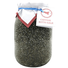 Capperi siciliani Piccolissimi al sale marino di Sicilia vaso da 1 kg