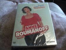 "DVD NEUF ""ANNE ROUMANOFF - LES PETITES RESOLUTIONS"""