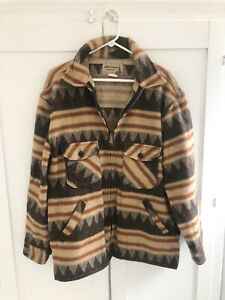 Vintage Mackinaw Woolens Jacket Size XL Made In USA