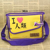 Cosplay NO GAME NO LIFE Lila&Gelb Schultertasche Shoulder Bags Lovely Cartoon