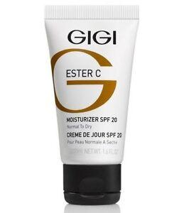 GIGI Ester C Moisturizer Spf 20 (Normal to Dry Skin) 200ml 6.8fl.oz