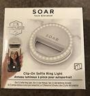 Clip On Selfie Ring Light Soar LED Photo Video Call Lighting BNIB Sealed Box New