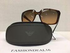 8418e57437ef New Emporio Armani Women s Brown EA4026 5198 18 Sunglasses