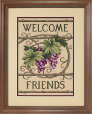 D13733 - Dimensions Counted Cross Stitch Welcome Friends
