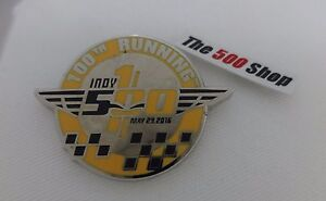 100TH Running 2016 Indianapolis 500 Event Collector Lapel Pin Anniversary Indy 2