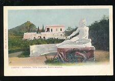 Greece CORFOU Achilleion Villa Imperiale 1900s u/b PPC by B. Borri et Fils