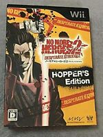 No More Heroes 2: Desperate Struggle Limited Edition Nintendo Wii Used Japan