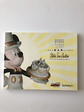 2005 Celebrate Mickey 75 InspEARations Statue Tour Sotheby's catalog NEW