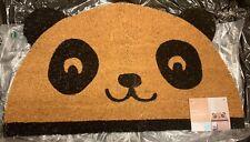 Next Panda Doormat 40x70cm Indoor Outdoor Coir PVC New
