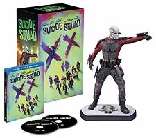 SEHR GUT: Suicide Squad - Digibook & Deadshot Figur -Blu-ray Extended Cut