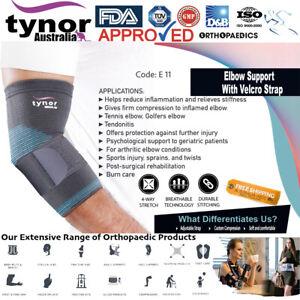 Tynor™ Tennis Elbow Support Brace Sleeve Arm Tendonitis Guard Golfer's Sprains