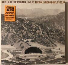 DAVE MATTHEWS BAND LIVE AT THE HOLLYWOOD BOWL 9/10/18 RSD BLACK FRIDAY #003456