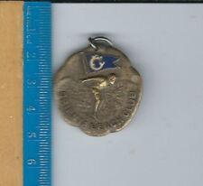 AN-068 Orienta Beach Club, New York, 1940s Brass Swimming Medal Women 110 yd FS
