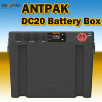 ANTPAK DC20 12V BATTERY BOX DUAL BATTERY SYSTEM DC TO DC CHARGER SOLAR AGM