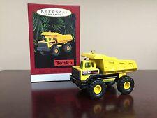 1996 Hallmark Keepsake Ornament Tonka Mighty Dump Truck