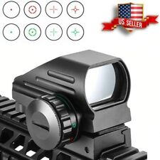 Tactical Reflex Red Green Laser 4 Reticle Holographic Projected Dot Sight 20mm