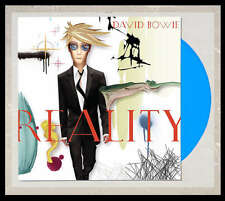 DAVID BOWIE Reality LP on BLUE VINYL Colored STILL SEALED