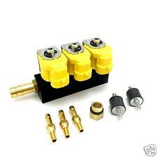 Valtek Rail Einspritzleiste LPG Autogas Typ 30 1 Ohm für 3 Zylinder mit Zubehör