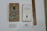 """ll Meneghello Large 7"""" Tarocchi Visconti de Modrone Tarot Deck Handcrafted Box"""