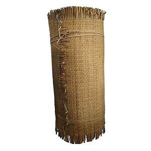 passatoia paglia stretta tipo bamboo coprente da copertura lunga 15m per arredo