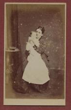 London. Knightsbridge . Stuart. Mother Baby 1876  CDV photograph qf.123