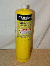 TurboTorch, MAP/PRO GAS TANK, Disposable, 14.1 oz. Hotter Then Propane