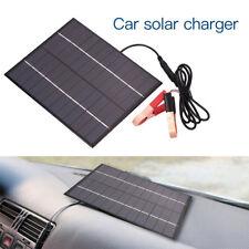 Automóvil Vehículo Impermeable Panel solar policristalino 5.5W 12V Cargador De Batería