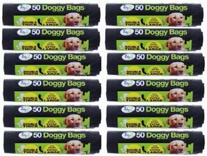 Extra Large Double Thick Strong Doggy Poo Poop Bag Tie Handles 30cm x 36cm Tidyz
