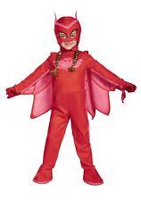 PJ Masks Owlette Toddler Child Halloween Costume Glows in Dark 4-6X
