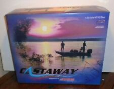 ACTION 2003 DALE EARNHARDT #3 CASTAWAY NITRO SILVER SELECT BOAT & TRAILER 1/24